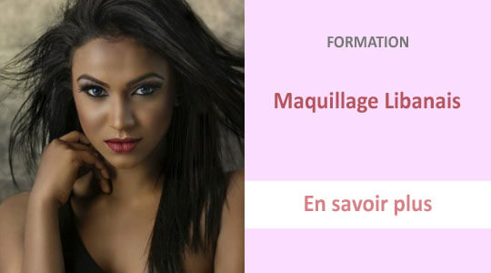 formation maquillage libanais