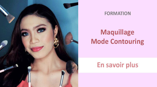 formation maquillage mode contouring