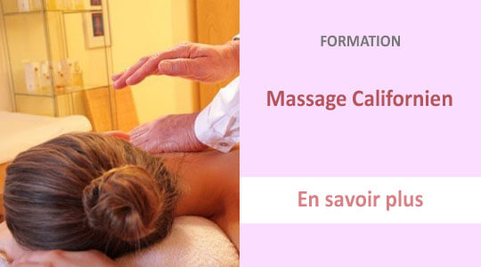 formation massage californien